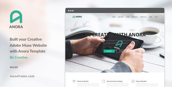 Anora - Design Multi-Purpose Muse Template