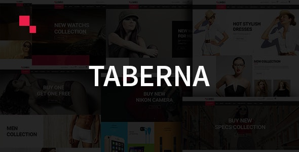 Taberna - eCommerce HTML5 Template - Shopping Retail