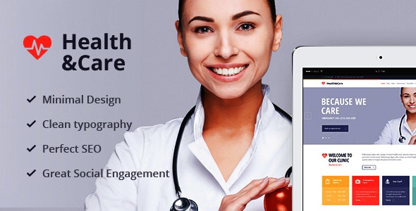 Health & Care - Life Coach & Medical Doctor WordPress Theme - Health & Beauty Retail