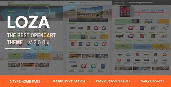 Lozastore- Multipurpose Responsive OpenCart Themes
