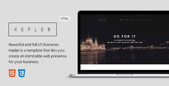 KEPLER - Responsive Business HTML5 Template - Business Corporate