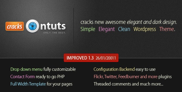 Cracks - Wordpress Community Theme - Blog / Magazine WordPress