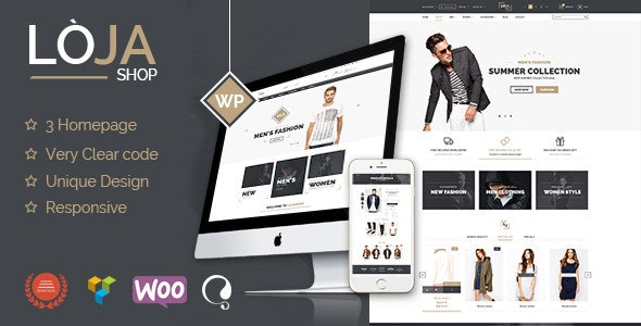 Loja - Responsive WooCommerce Theme - WooCommerce eCommerce