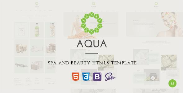 Aqua - Spa-Beauty Responsive Commerce Drupal Theme