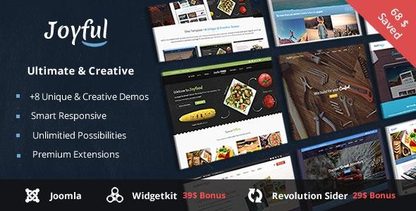 Joyful - Creative Multipurpose Joomla Template  - Creative Joomla