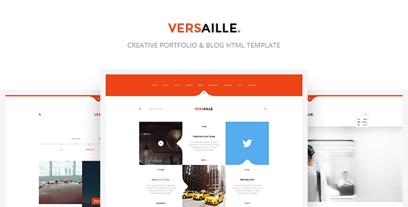 Versaille - Personal Blog HTML5 Template - Personal Site Templates
