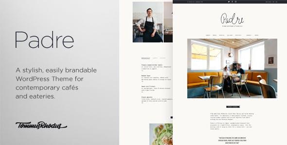 Padre - Cafe & Restaurant WordPress Theme