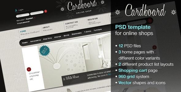 Cardboard - Shopping Retail