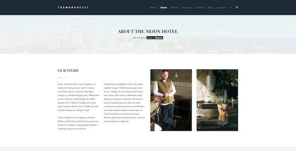 Moon - Hotel PSD Template