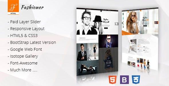 Fashioner - Multipurpose Fashion HTML5 Template