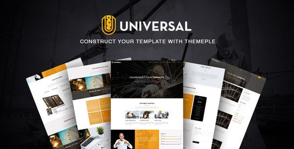 Universal - Responsive Business Template - Business Corporate