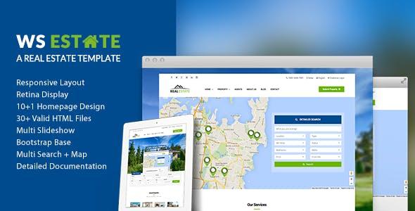 WS Estate - Responsive Real Estate HTML5 Template