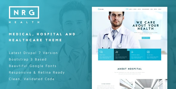 NRGhealth - Medical, Hospital & Healthcare Theme - Health & Beauty Retail