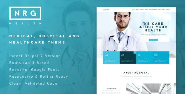 NRGhealth - Medical, Hospital & Healthcare Theme