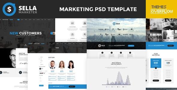 Sella - Marketing PSD Template - Marketing Corporate