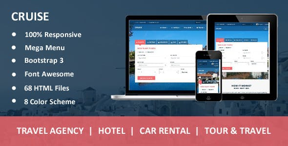Cruise - Responsive Travel Agency Template