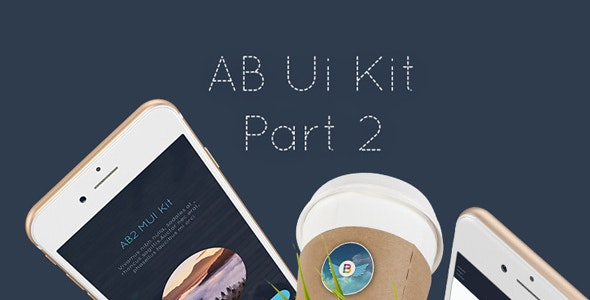 AB Part 2 - Mobile UI Kit by angelbi88 | ThemeForest