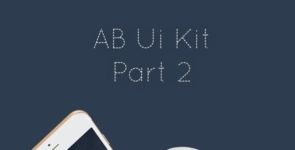 AB Part 2 - Mobile UI Kit
