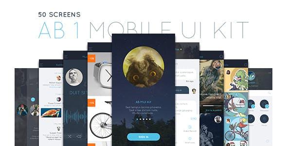 AB Part 1 - Mobile UI Kit