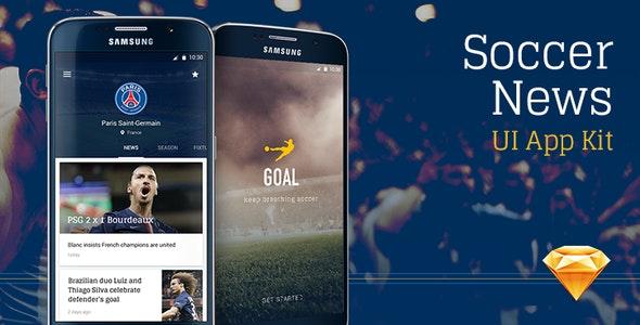 Goal Mobile UI Kit for Sketch - Sketch UI Templates