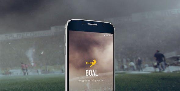 Goal Mobile UI Kit for Sketch