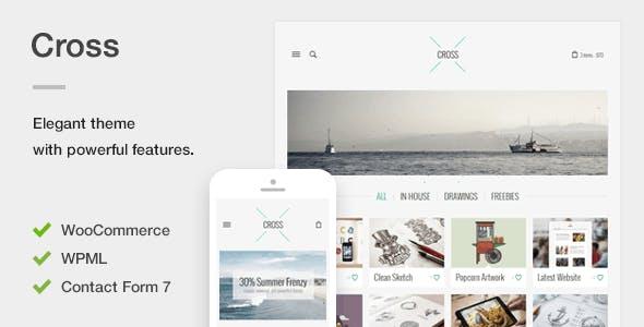 Cross - An Elegant Minimal WordPress Theme