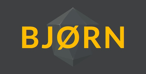 Bjorn Multipurpose Sketch Theme - Sketch UI Templates