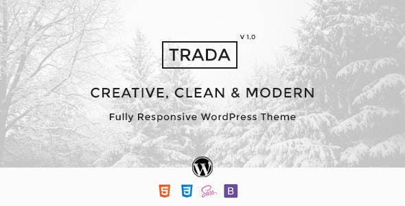 Trada - Creative Agency Multipurpose Theme - Creative WordPress