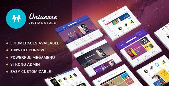 Leo Universe - Electronics & Digital Store Prestashop 1.6 & 1.7 Theme - Shopping PrestaShop