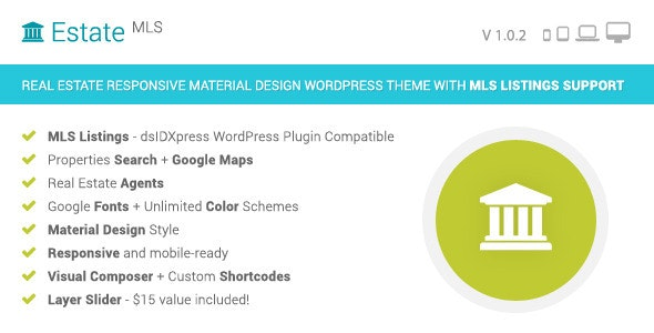 EstateMLS - Real Estate MLS WordPress Theme - Real Estate WordPress