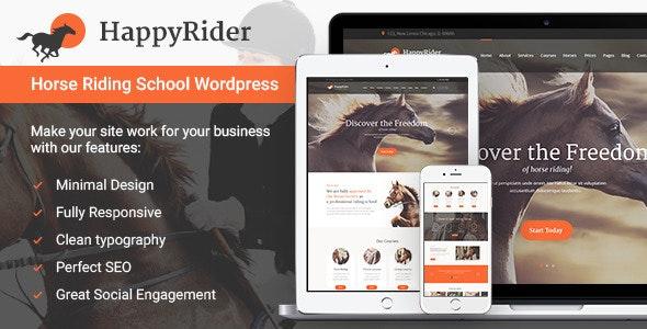 Happy Rider - Horse School & Equestrian Center WordPress Theme - Miscellaneous eCommerce