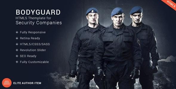 Bodyguard - Security HTML5 Theme - Business Corporate