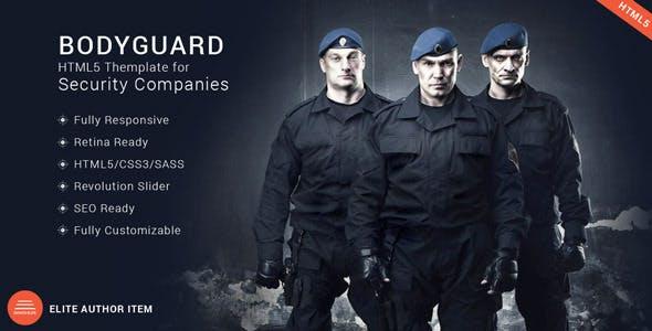 Bodyguard - Security HTML5 Theme
