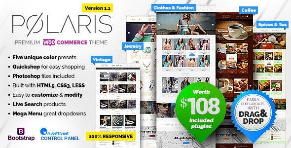 Polaris — Minimal & Powerful Multipurpose WooCommerce Theme - WooCommerce eCommerce