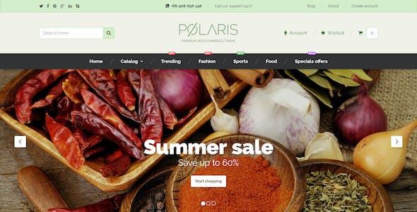 Polaris — Minimal & Powerful Multipurpose WooCommerce Theme