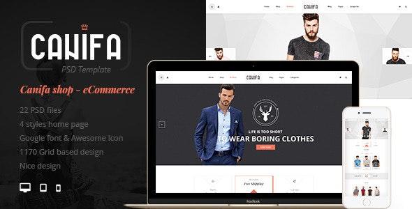 Canifa - eCommerce PSD Templates - Fashion Retail