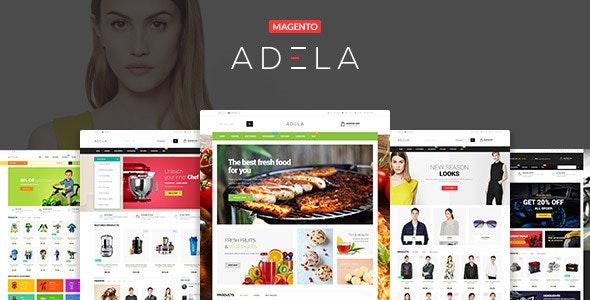 Ves Adela Multipurpose Responsive Magento Theme - Shopping Magento
