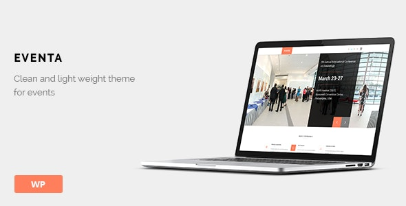 Eventa - Event WordPress Theme - Events Entertainment