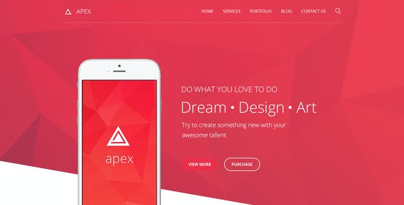 Apex - Corporate Template