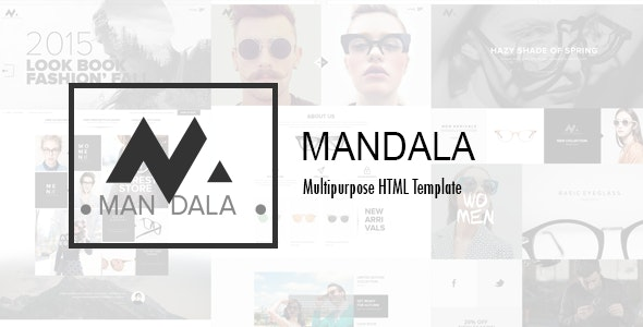 Mandala - Glasses Shop HTML Template - Fashion Retail