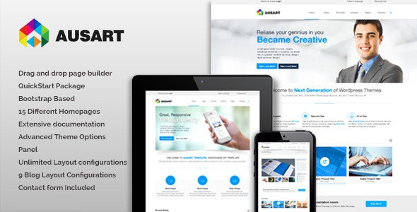 Ausart - Multipurpose Joomla Template - Business Corporate