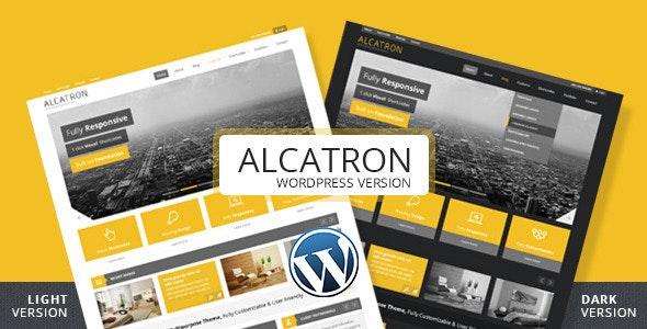 Alcatron - Multipurpose Responsive WP Theme - Corporate WordPress