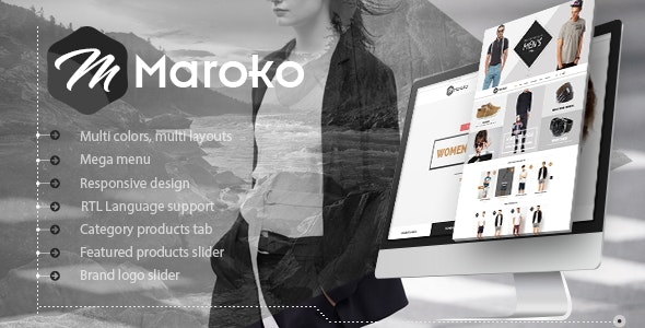 Maroko - Responsive Prestashop Fashion Theme - Fashion PrestaShop