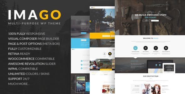 Imago - Multipurpose WordPress Theme