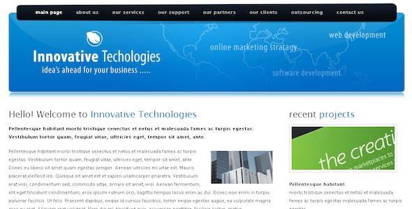 Innovative Technologies Html Template
