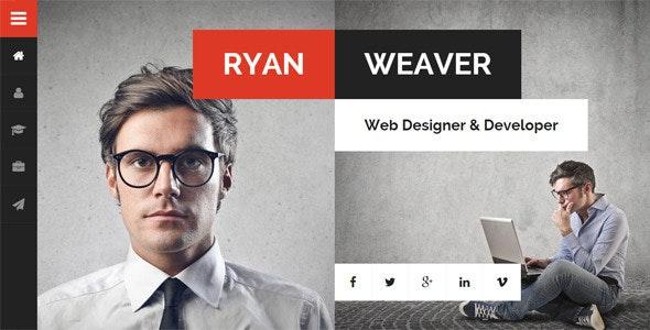 Divergent - Personal Vcard Resume WordPress Theme - Portfolio Creative