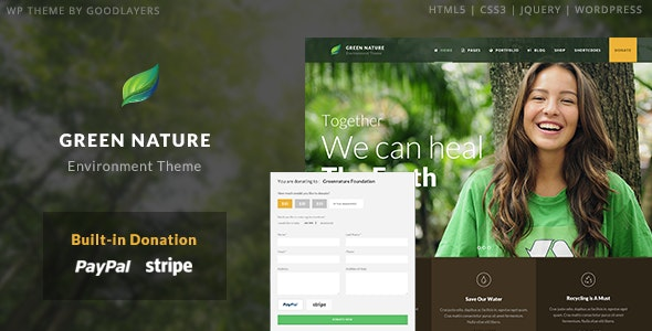 Green Nature - Environmental / Nonprofit WordPress - Environmental Nonprofit