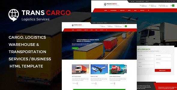 TransCargo - Transport & Logistics HTML Template - Business Corporate