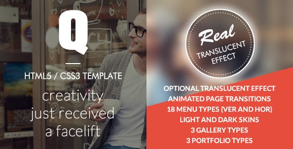 Q Creative - The HTML5 Template