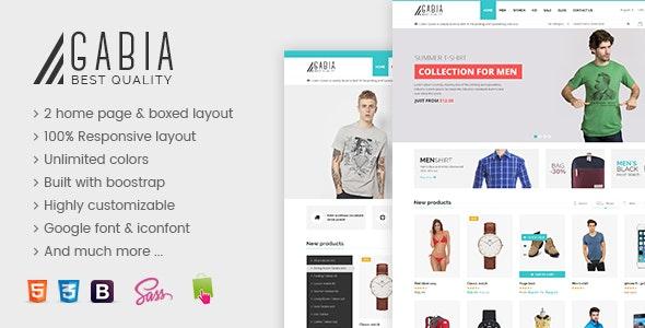 SNS Gabia - Responsive Prestashop Theme - Shopping PrestaShop